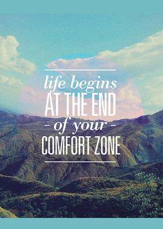 life begins comforte zone